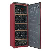 Gros Appareils Froid CLIMADIFF CV295 - Cave a vin de vieillissement - 294 bouteilles - Pose libre - Classe A - L 70 x H 183 cm