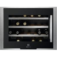 Gros Appareils Froid ERW0670A -Cave a vin de service-24 bouteilles-Encastrable-Froid brasse-A+-L 59.4 x H 45.5 cm