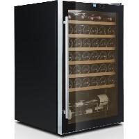 Gros Appareils Froid S148CBE4 - Cave a vin de service - 48 bouteilles - Pose libre - Classe A - L 55 x H 85 cm - Noir