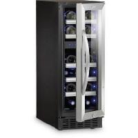 Gros Appareils Froid S17G - Cave a vin - 17 bouteilles - Encastrement possible - Classe A - L 29.5 x H 82 cm