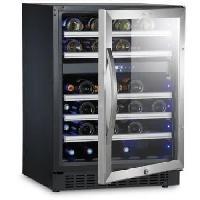 Gros Appareils Froid S46G - Cave a vin de service a 2 zones - 46 bouteilles - Pose libre ou encastrable - Classe A - L 59.5 x H 82 cm