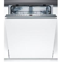 Gros Appareils Lavage-sechage BOSCH SMV46AX04E - Lave vaisselle encastrable - 12 couverts - 6 programmes - 44dB - A++ - Larg 60cm - Moteur induction - Blanc