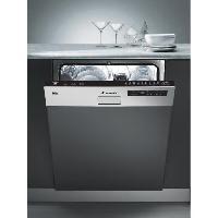 Gros Appareils Lavage-sechage CDS2D35X - Lave vaisselle encastrable - 13 couverts - 46 dB - A++ - Larg 60 cm - Bandeau inox