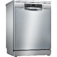 Gros Appareils Lavage-sechage SMS46II17E - Lave vaisselle posable - 13 couverts - Silencieux 44 dB - A ++ - Larg 60 cm - Inox - Moteur induction