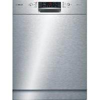 Gros Appareils Lavage-sechage SMU46MS03E - Lave vaisselle encastrable - 14 couverts - 44dB - A++ - Larg 60cm - Moteur induction
