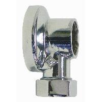 Gros Appareils Lavage-sechage SOMATHERM Applique machine a laver - Chromée 1/2 - Tube Ø 14 mm