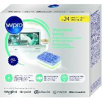Gros Appareils Lavage-sechage WPRO TAB100 24 tablettes tout en 1 pour lave-vaisselle