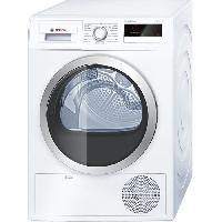 Gros Appareils Lavage-sechage WTH85290FF Seche-linge - 8 kg - Condensation pompe a chaleur - Classe A++ - Blanc