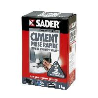 Gros ?uvre (poudres Ragreage - Ciment - Beton - Mortier - Platre) SADER Boite Ciment prompt vicat  - 1kg