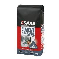 Gros ?uvre (poudres Ragreage - Ciment - Beton - Mortier - Platre) SADER Sac Ciment prompt vicat  - 5kg