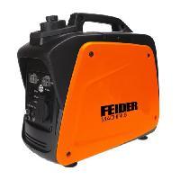 Groupe Electrogene FEIDER Groupe electrogene a essence Inverter FG900IS - 700 W a 780 W - Orange et noir