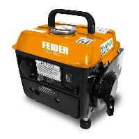 Groupe Electrogene FEIDER Groupe electrogene a essence Portable FG800 - 650 W a 720 W - 63 cm3 - Orange et noir