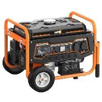 Groupe Electrogene Groupe electrogene a essence de chantier FG3000 - 2800 W a 2900 W - Systeme AVR - Orange et noir