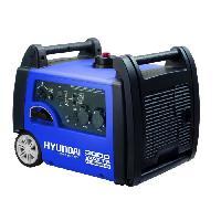 Groupe Electrogene HYUNDAI Groupe electrogene a essence inverter HG40001-A1 - 3100 W a 3500 W - Bleu et noir
