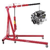 Grue D'atelier - Chevre Hydraulique AUTOBEST Grue d'atelier pliante - 2T