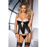 Guepieres et corsets Corsage et String Amarone - XL-XXL