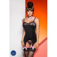 Guepieres et corsets Corsage et String Nora - L-XL