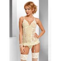 Guepieres et corsets Guepiere Tessie L-XL