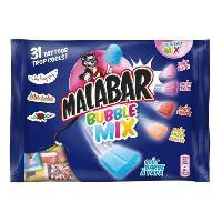 Guimauve MALABAR Guimauves Bubble Mix. goût barbe a papa - 214 g