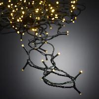 Guirlande De Noel AUTOUR DE MINUIT Guirlande extérieure 100 LED - 10 m - Blanc chaud Aucune