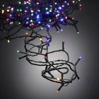 Guirlande De Noel AUTOUR DE MINUIT Guirlande extérieure 100 LED - 10 m - Multicolore Aucune