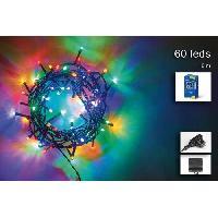 Guirlande De Noel Guirlande de Noël 60 LED extérieure - 5 mm x 3 m - Multicolore Generique