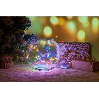 Guirlande De Noel Guirlande de Noël Filaire - 120 Mini LED - Multicolore Aucune