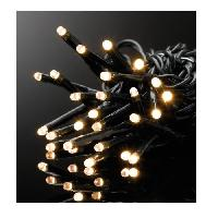 Guirlande De Noel Guirlande de Noël LED extérieure filaire plastique - 25 m - Blanc chaud - Electrique - Generique
