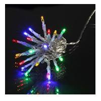 Guirlande De Noel Guirlande de Noël LED extérieure filaire plastique - 3 m - Multicolore - Electrique - Generique