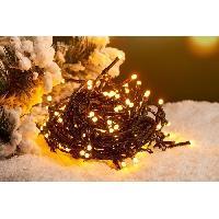 Guirlande De Noel Guirlande de Noël Solaire - 50 LED - Blanc chaud - 5m Aucune
