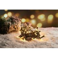 Guirlande De Noel Guirlande de Noël incandescente 50 ampoules - 6.25 m - Blanc chaud - Generique