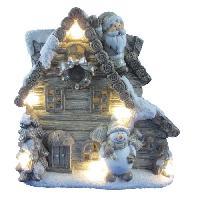 Guirlande De Noel Maison des Contes de Fées 6 LEDs -16x34x35 cm - Multicolore magnésie Generique