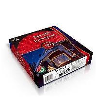Guirlande Electrique Lumineuse D Exterieur CHRISTMAS GIFT Bandeau LED Noel - L 24 m - Rouge