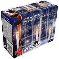 Guirlande Electrique Lumineuse D Exterieur CHRISTMAS GIFT Guirlande LED Noël - 240 ampoules - Blanc chaud
