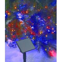 Guirlande Electrique Lumineuse D Exterieur CODICO Guirlande solaire lumineuse - 96 LED - 10 m - Multicolore