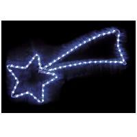 Guirlande Electrique Lumineuse D Exterieur Etoile filante exterieur 48 LED 68cm blanche