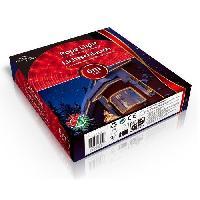 Guirlande Electrique Lumineuse D Exterieur Guirlande lumineuse de Noël 6 metres rouge - Christmas Gift