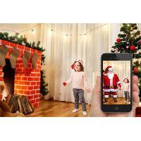Guirlande Electrique Lumineuse D Exterieur LEALIGHT Guirlande Realite Augmentee Blachere 31 V - L 12m - 200 LED multicolore