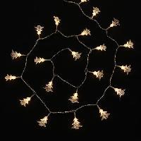 Guirlande Electrique Lumineuse Interieure Guirlande de Noel lumineuse avec Sapins 50 LED 4.5 m blanc