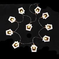 Guirlande Electrique Lumineuse Interieure Guirlande de Noel lumineuse maisons 20 LED 1.9 m blanc