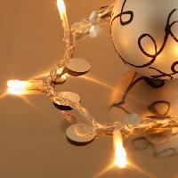 Guirlande Electrique Lumineuse Interieure Guirlande pastilles 20 lampes - Aucune