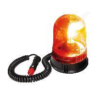 Gyrophare Gyrophare Astral Base magnetique et Ventouse 12 V - Orange