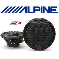 HP Alpine SPR-50 - 2 Haut-Parleurs Coaxiaux 2 voies - 13cm - 90W RMS - Type R