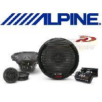 HP Alpine SPR-50C - 2 Haut-Parleurs 2 voies Separees - 13cm - 100W RMS - Type R