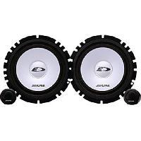 HP Alpine SXE-1750S - 2 Haut-Parleurs Specifiques 2 voies Separees - 16.5cm - 280W Max - Serie Custom Fit