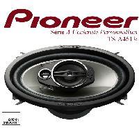 HP Pioneer TS-A4613i - 2 Haut-Parleurs 3 voies Elliptiques - 10x16cm - 20W RMS - Special VW Seat Fiat Lancia Chevrolet -> TS-A4670F