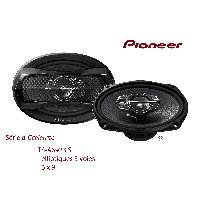 HP Pioneer TS-A6923IS - 2 Haut-Parleurs 3 voies Elliptiques - 16x23cm - 90W RMS - Serie A-Ccelerate -> TS-A6970F