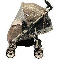 Habillage Pluie Habillage pluie pour poussette avec canopy