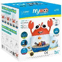 Habitat - Couchage Aquarium ludique MyCrab - 7.5 L - Pour poisson