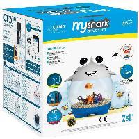 Habitat - Couchage Aquarium ludique MyShark - 7.5 L - Pour poisson
